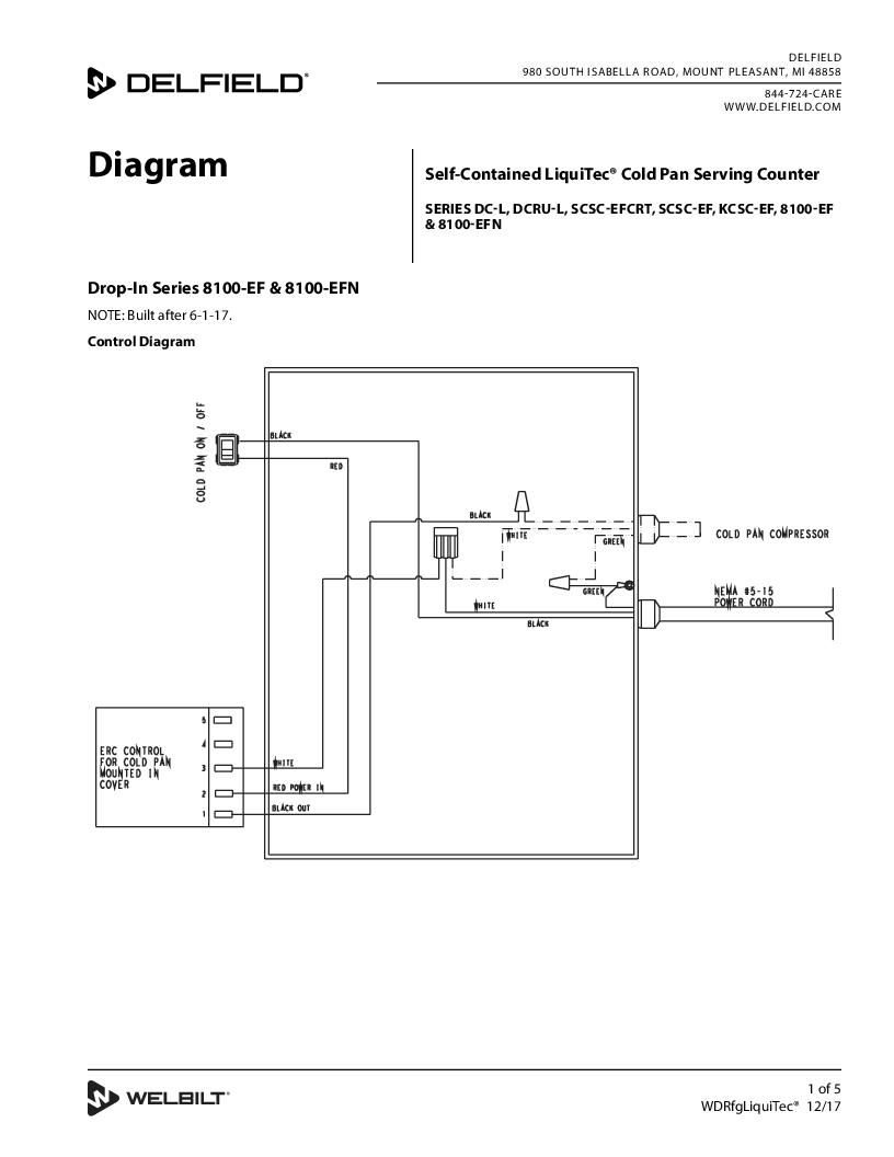 Delfield product self contained liquitec cold pan serving counter wiring diagram asfbconference2016 Choice Image