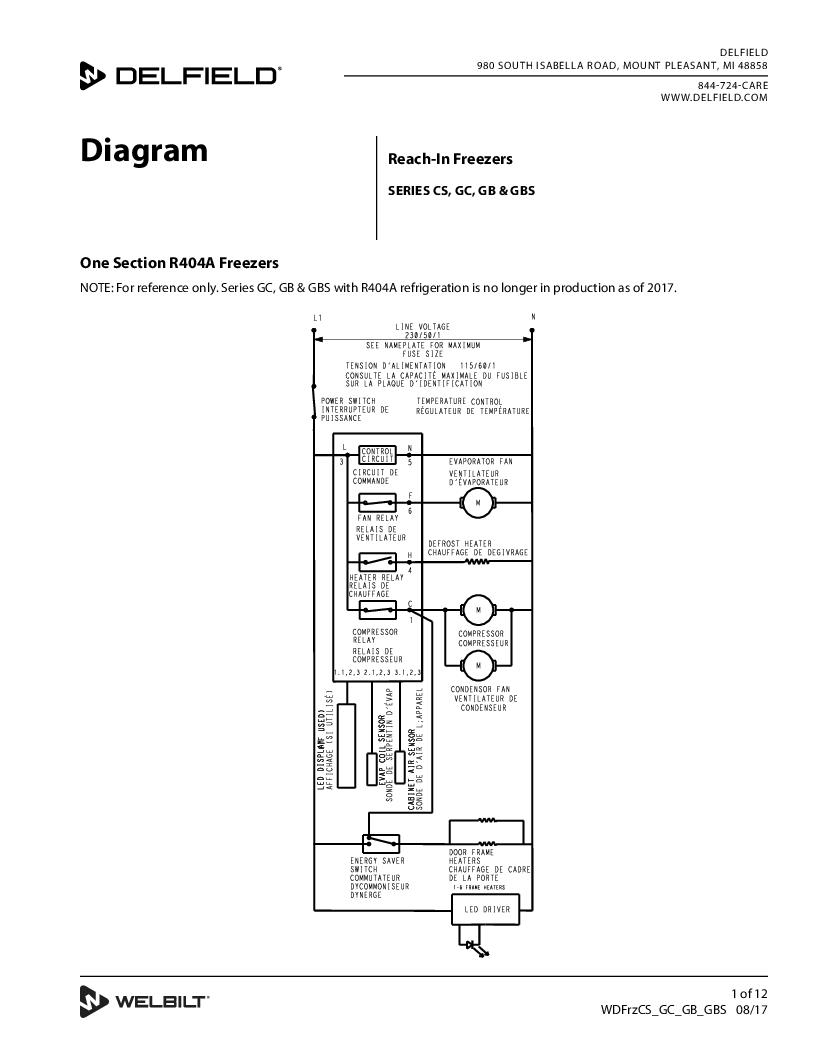 Reach in freezer wiring diagram 31 wiring diagram images wiring wdfrzcsgcgbgbs delfield product reach in freezer wiring diagram at highcareia asfbconference2016 Choice Image